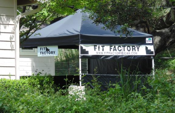 Fit Factory Banner and Custom Sign - Shell Beach